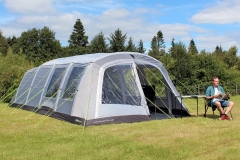 outdoor revolution camp star 600 lightweight family air tent